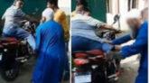 বাবাকে লাথি মেরে ফেলে দেন শিক্ষক ছেলে, গ্রেপ্তার করলো পুলিশ